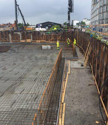 Køge Kyst SH1-2 | Holbøll A/Sudfører byggegrube, kloak og støbning