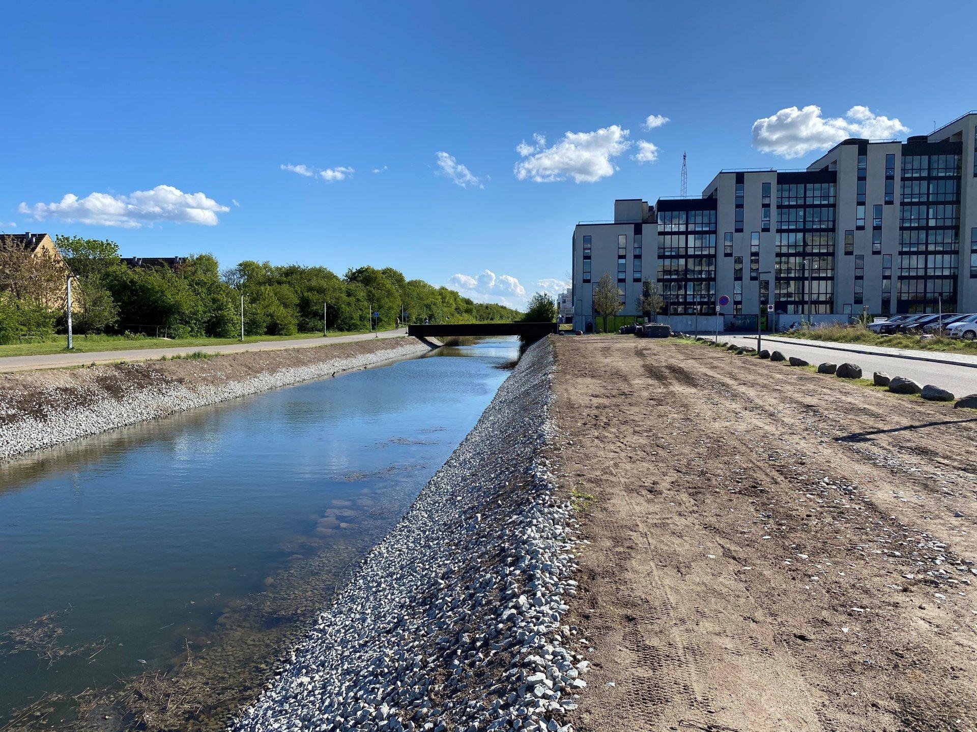 Norde Landkanal | Erosionssikring af brinker | Holbøll A/S