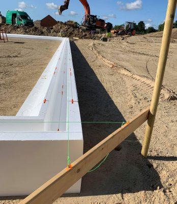 Beton-arbejde   Terrændæk støbning   Byggemodning af Gaulumparken   Holbøll A/S