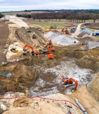 Banearbejde, Ring Syd | Holbøll udfører banearbejde