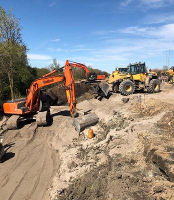 Banearbejde, Vordingborg St. | Holbøll udfører banearbejde