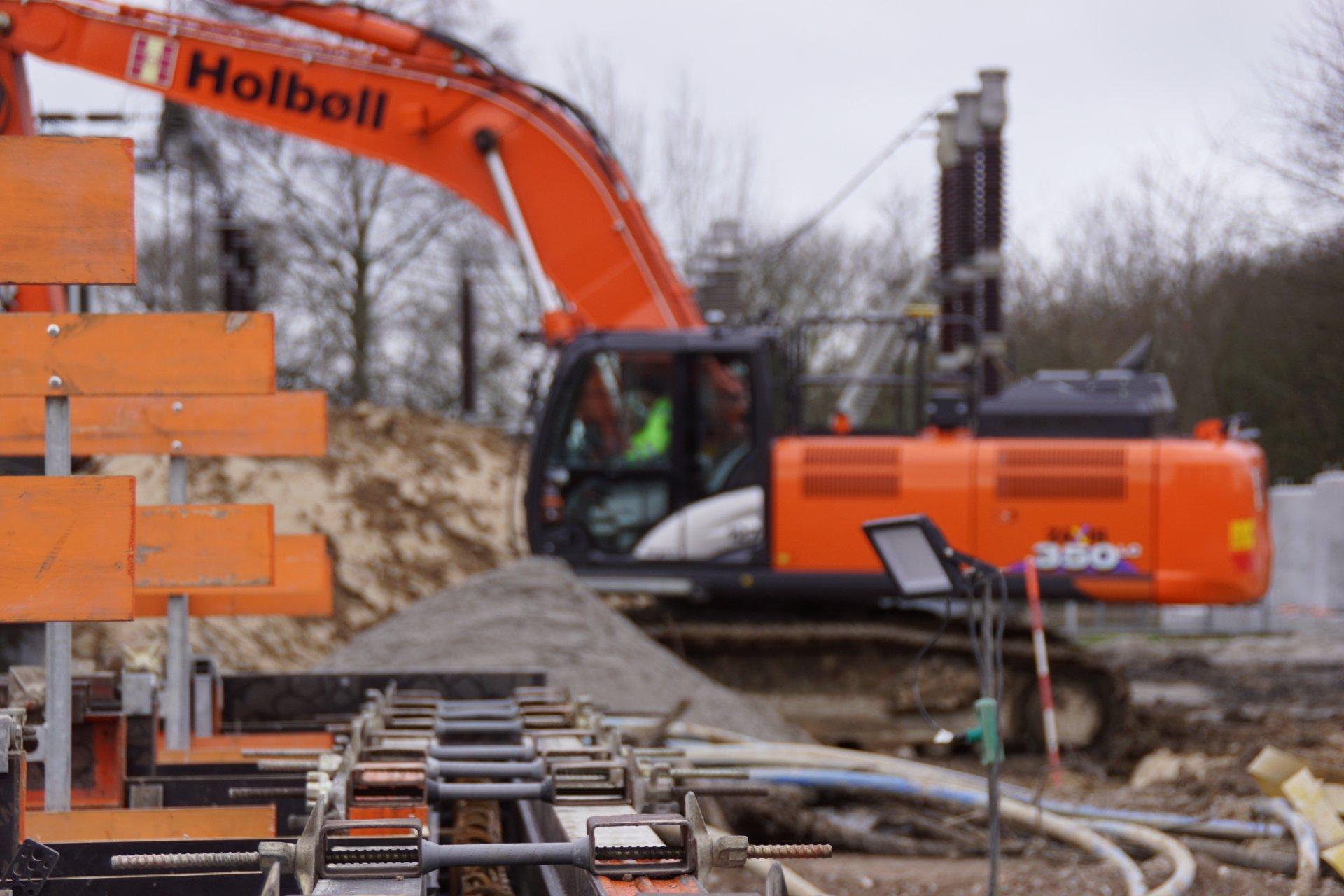 Forsyning   Holbøll udfører lokalt anlægsarbejde