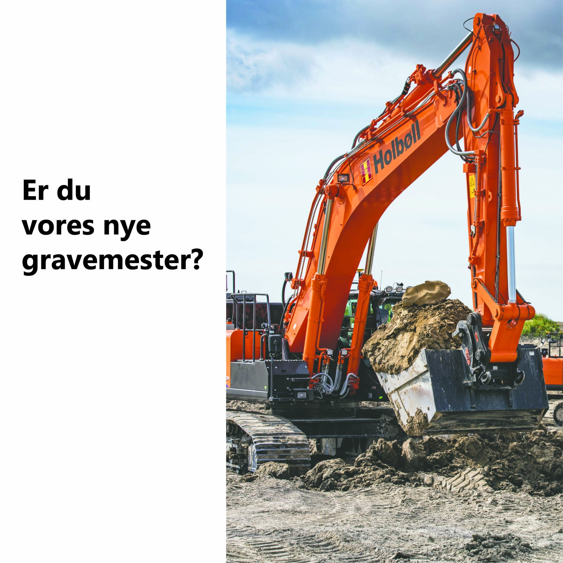 Gravemester søges til projekter på hele Sjælland | Holbøll