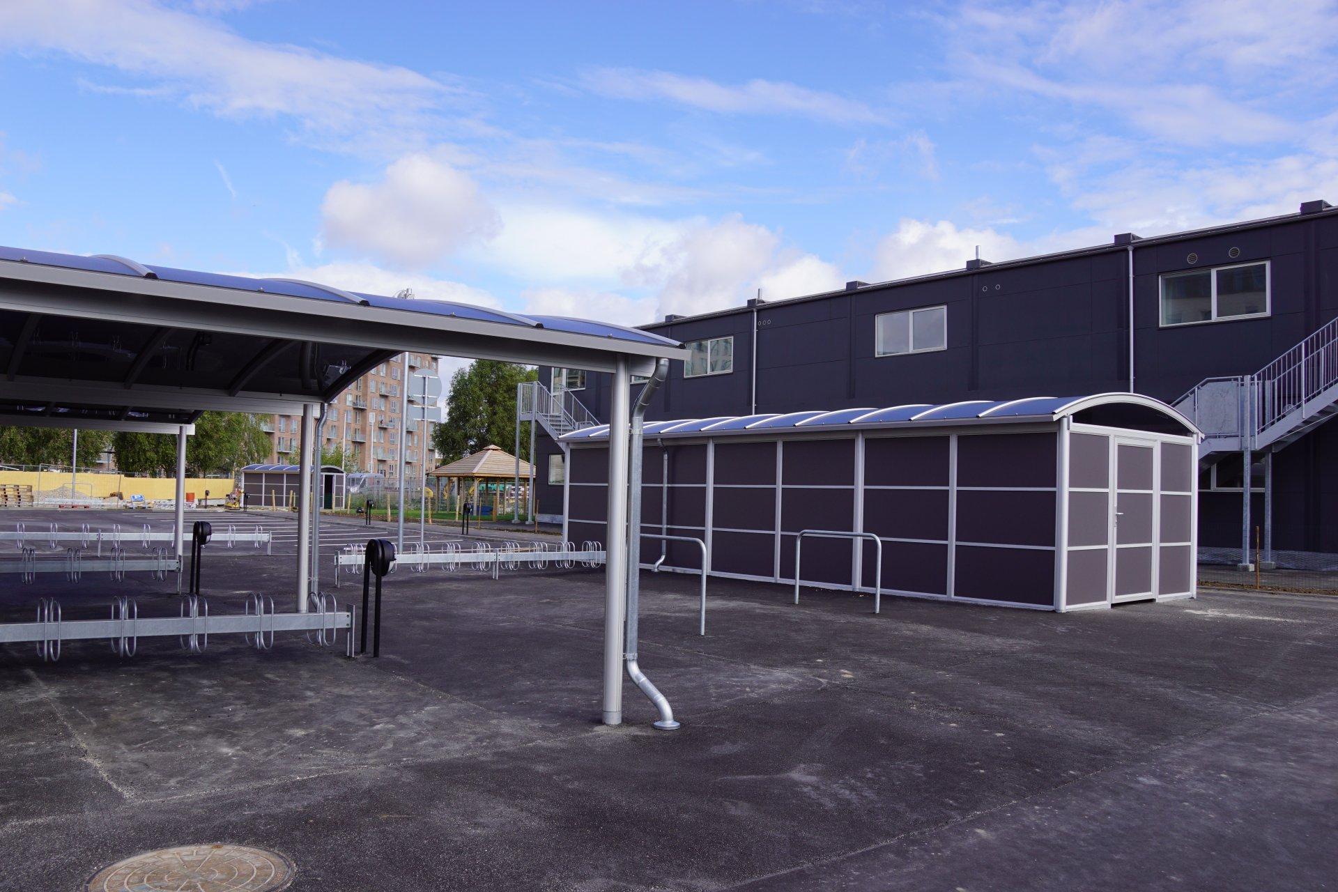 Midlertidige pavillon-bygninger for TRUST | Holbøll A/S