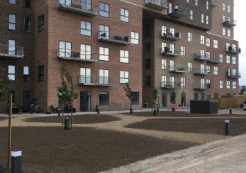Kubehusene | Reference | Holbøll udfører beton og belægning