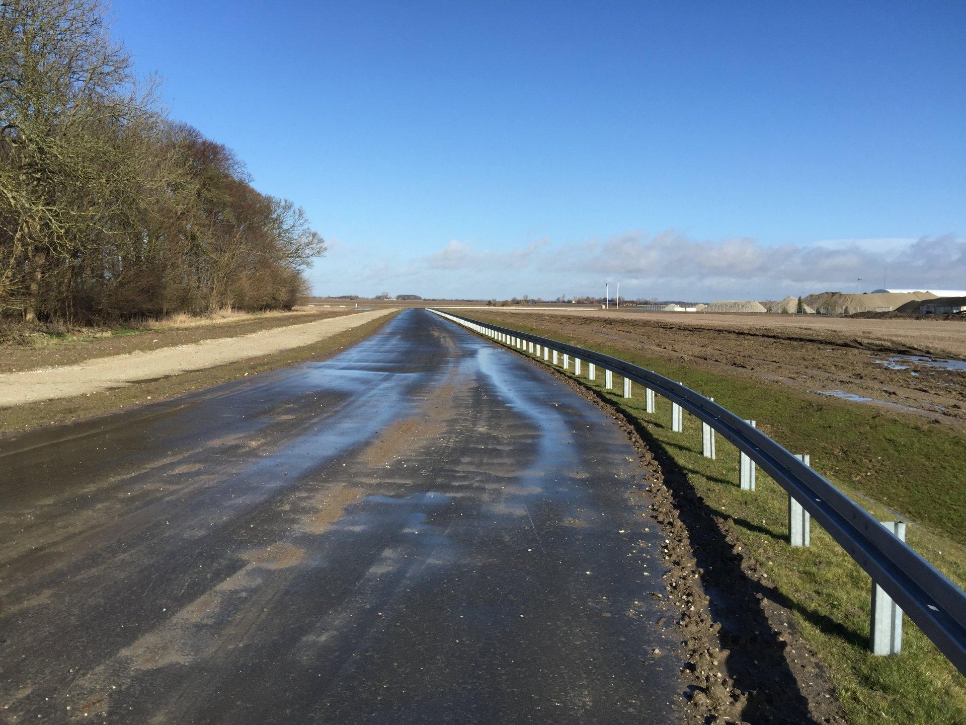 Strandholmsvej Nord og Syd | Holbøll etablerer forlægning og adgangsveje