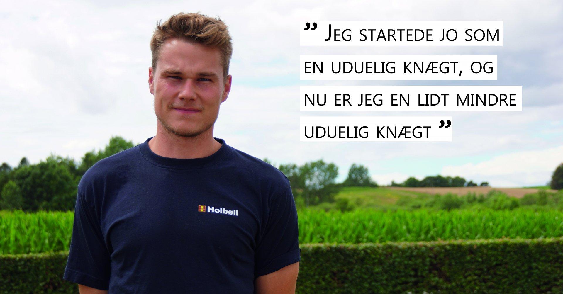 Holbøll, projektleder og mentor, medarbejderportræt, Kevin