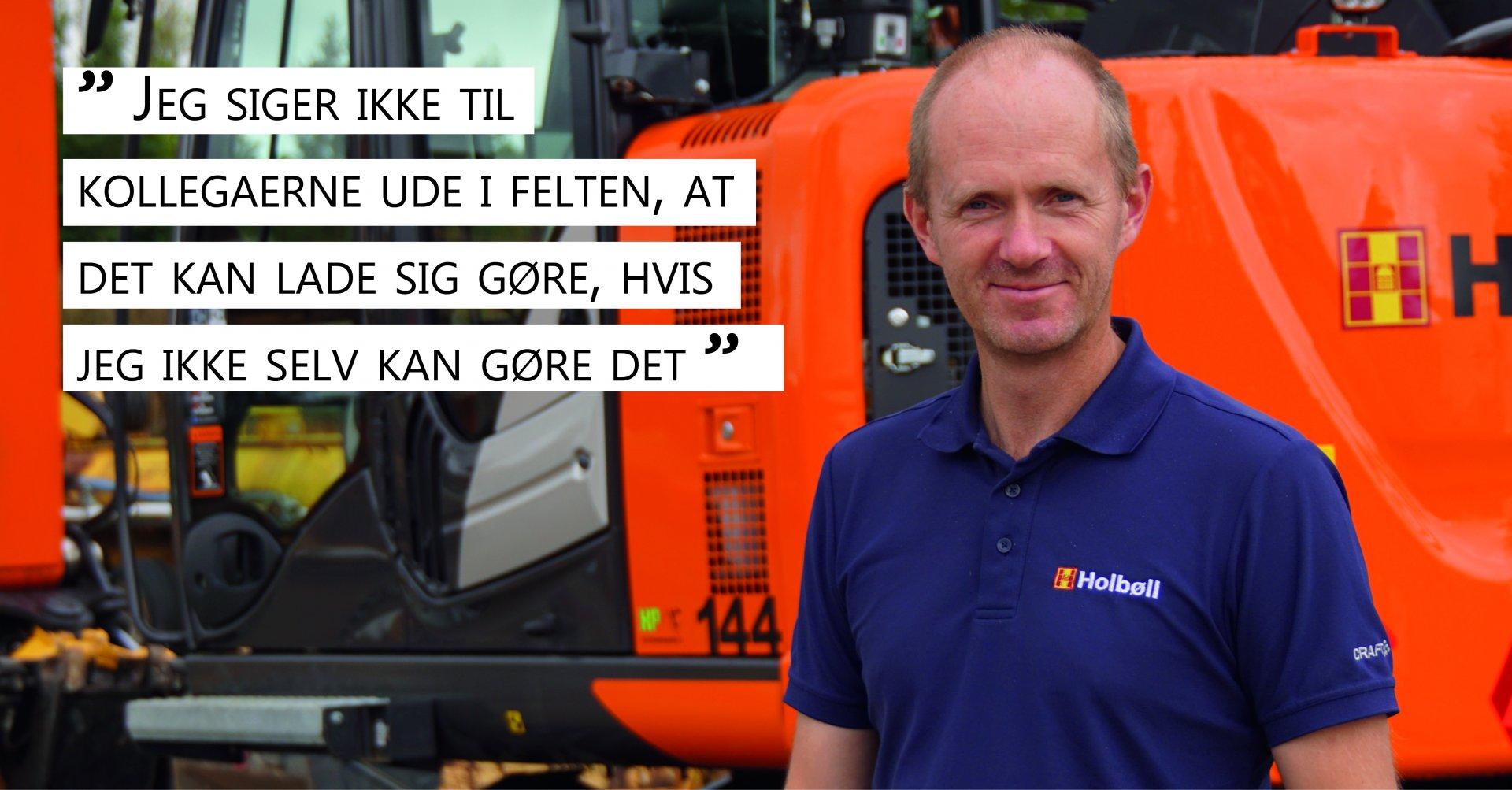 Holbøll, projektleder, medarbejderportræt, Thomas