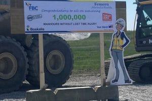 1 mio arbejdstimer uden arbejdsulykker på femern Holbøll